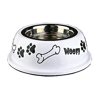 Trixie Stainless Steel Bone Design Dog Bowl