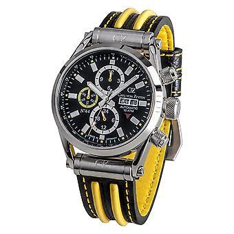 Carl of Zeyten men's watch wristwatch automatic no.. 44 CVZ0044BKYL