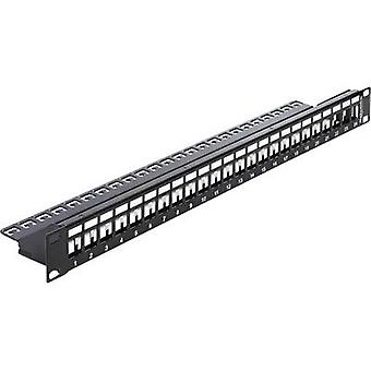 Delock 43277 24 ports Network patch panel Unequipped 1 U