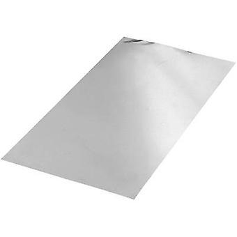 הסדינים של אלומיניום reely אל 99.5, L 400 mm, W 200 mm, D 0.4 mm