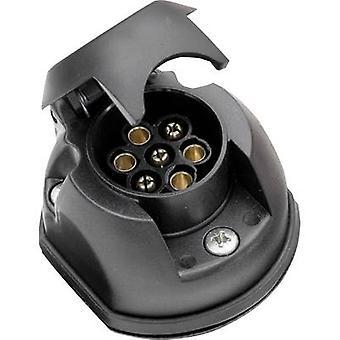 SecoRüt 20145 Trailer socket [7-pin socket - 7-pin plug] ABS plastic