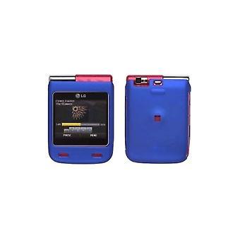 Caso de Soft Touch para el LG Lotus Elite / mística UN610 - azul