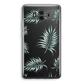 Huawei Mate 10 caso transparente (Soft) - folhas simples