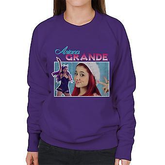 Ariana Grande Tribute Montage Women's Sweatshirt