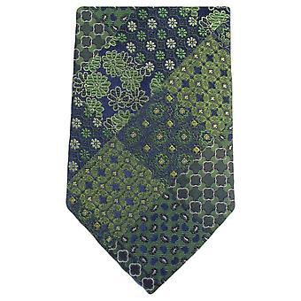 נייטסברידג ללבישה מולטי דפוס פרחוני עניבה-ירוק