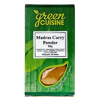 Green Cuisine Medium Madras Curry Seasoning