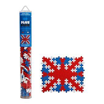 PLUS PLUS Mini Basic Union Jack Tube Mix (100 pcs)