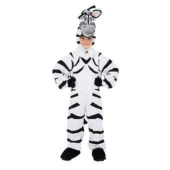 Zebra kostyme 128cm
