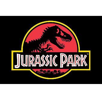 Jurassic Park Logo Poster