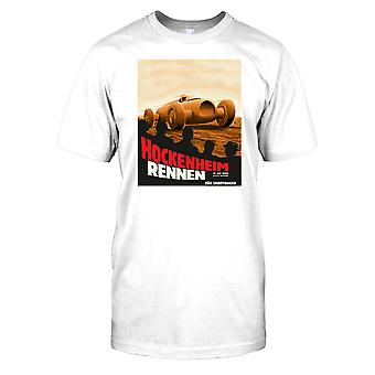 Hockenheim Rennen 1932-retro Motor Racing Mens T-shirt