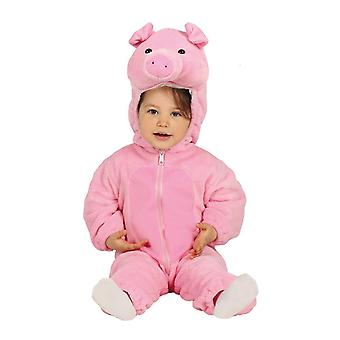 Småbørn Piggy Fancy kjole kostume