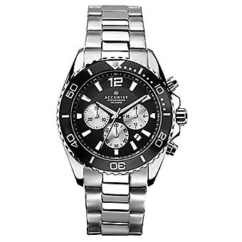 Accurist watches-wristwatches, male, analog, plated stainless steel