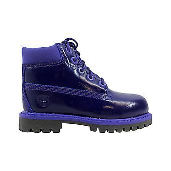 Малыш TB03381A водонепроницаемый фиолетовый обуви Timberland 6 дюймов премиум