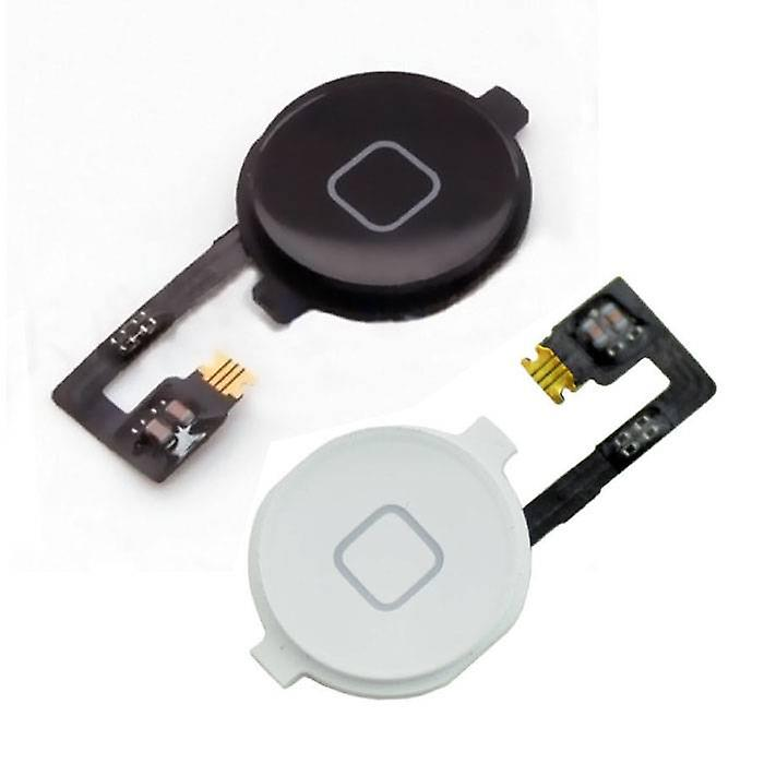 Stuff Certified® Apple iPhone 4S - A + Home Button Flex Cable Assembly Black