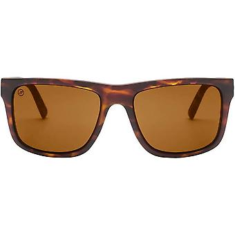 Electric California Swingarm XL Sunglasses - Matte Tortoise Shell/Bronze