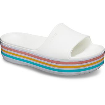 Crocs Crocband Naisten Platform luistaa liukusäädintä sandaalit