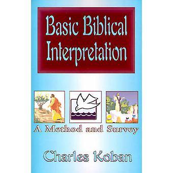 تفسير الكتاب المقدس الأساسية بأسلوب ودراسة استقصائية أجراها تشارلز & شرطتها