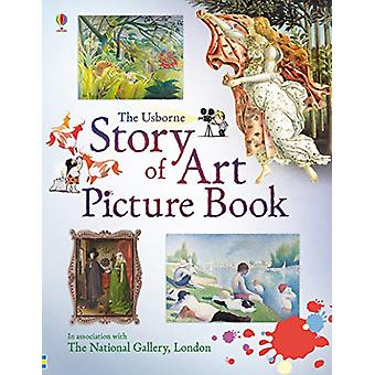 サラ Courtauld によるアート絵本の物語-9781474938174 本