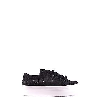 Jeffrey Campbell Ezbc132048 Women's Black Fabric Sneakers