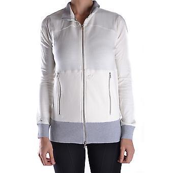 Etiqueta Negra Ezbc183023 Women's White Cotton Sweatshirt