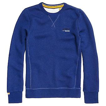 SUPERDRY Orange Label Crew Sweatshirt Grindle Sonic