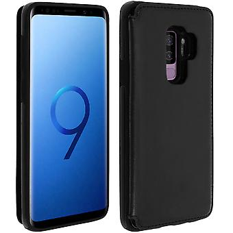 Samsung Galaxy S9 Plus Shockproof Case, Card Holder Wallet, Forcell, Black