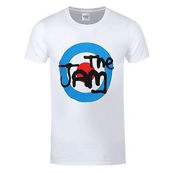 Men's The Jam Spray Logo White T-Shirt