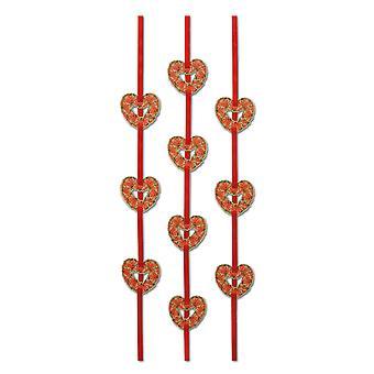 Stringers de ruban de coeur