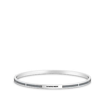 Chicago White Sox armband i Sterling Silver design av BIXLER