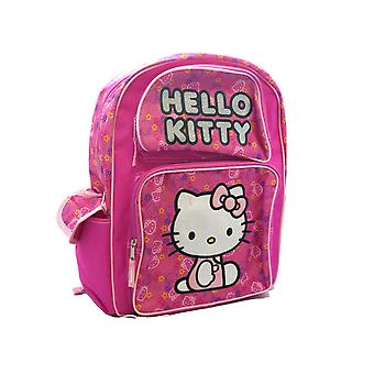 Small Backpack - Hello Kitty - Kitty Face Pink Girls School Bag 828117