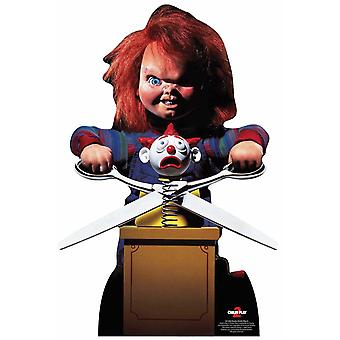 Chucky avec Jack in the Box Official Lifesize Cardboard Cutout / Standee