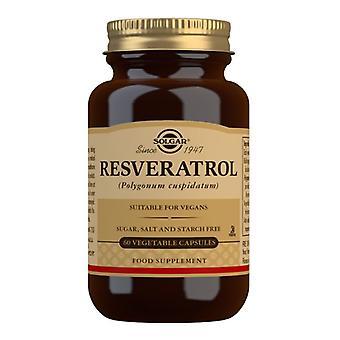 Solgar resveratrol 100mg Vegicaps 60 (2335)