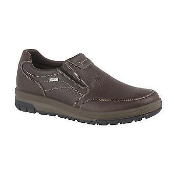 IMAC Mens Grain Leather Casual Shoe