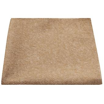 Luxury Camel Brown Donegal Tweed Pocket Square, näsduk