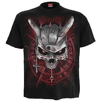 Spiral-aldrig för högljudd-t-shirt