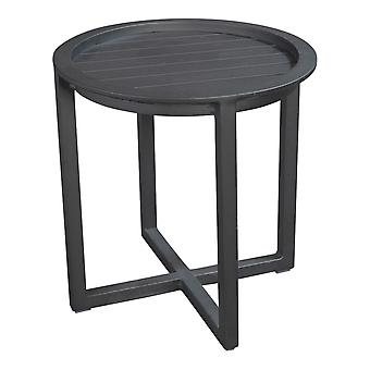Plage7 - France QUEENS LOUNGE TABLE ALUMINIUM 50CM  Mystic Grey - France