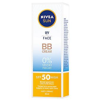 Nivea Sun Tinted BB Cream Sunscreen SPF 50 50ml/1.7oz