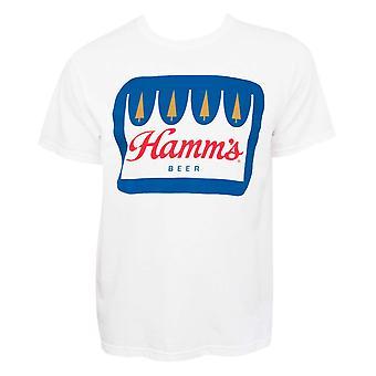 Hamm Crown Logo valkoinen t-paita