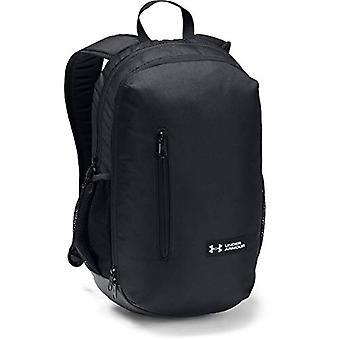 Under Armour UA Roland Backpack - Unisex Backpack Adult - Black Black/Silver - One Size