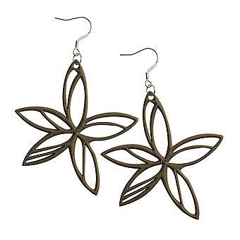 Batucada Skin Jewellery Moka Hawaii Earrings 4-01-03-01-MOKA