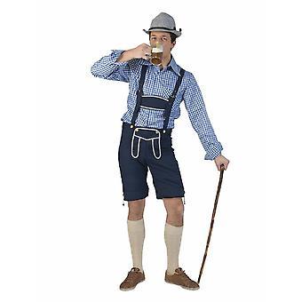 Kostüm Bayernhose Hias Herrenkostüm Männerkostüm Oktoberfest Wiesn Trachten Mann für Karneval Fasching Party Pierros