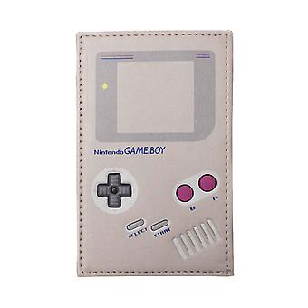 Game Boy Card Wallet Console retro gamer new Official Nintendo grey