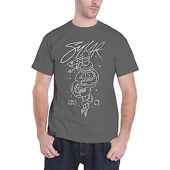Sylar camiseta desde MMXII logo Band novo oficial Mens Black