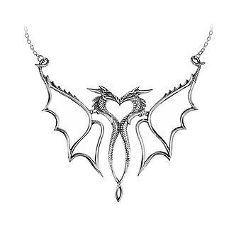 Alchemy Dragon Małżonka Pewter Wisiorek