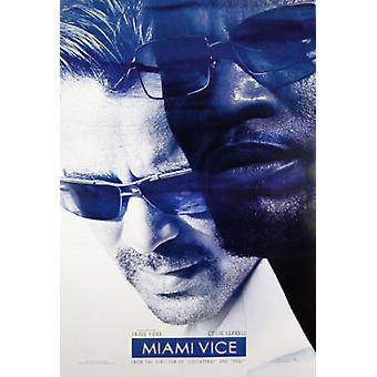 Miami Vice (dubbelzijdige Advance) originele Cinema poster