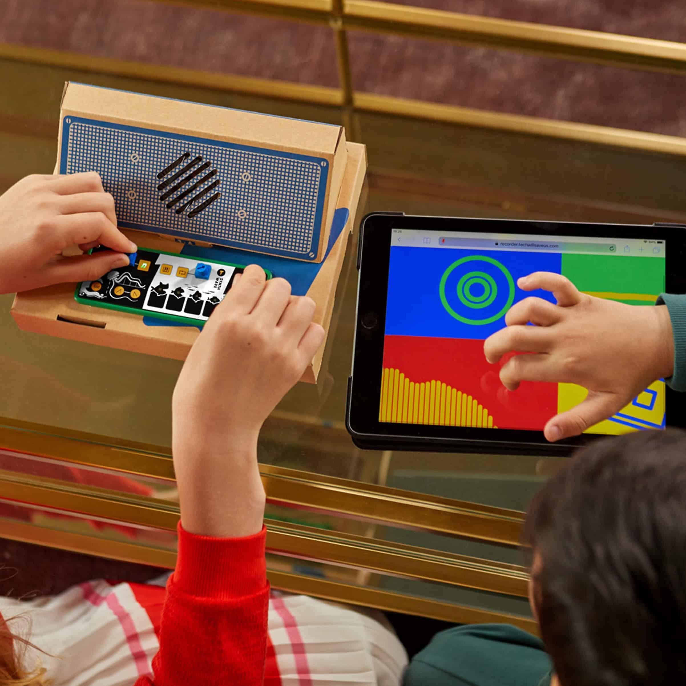Tech Will Save Us Synth Wave Kit (fr) Jouet musical éducatif, 8 ans et plus