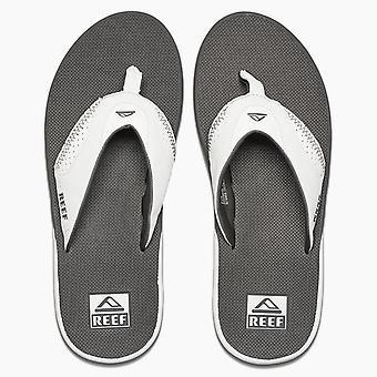 Reef Mens Thongs ~ Fanning grijs/wit
