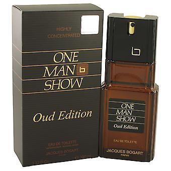 Jacques Bogart One Man Show Oud Edition Eau de Toilette 100ml EDT Spray