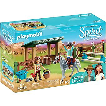 Playmobil - Riding Arena with Lucky and Javier Toy