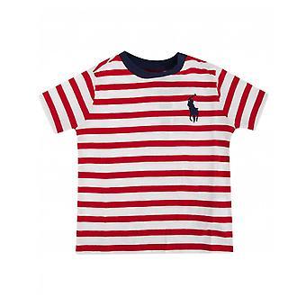 Polo Ralph Lauren Childrenswear Multi Stripe Short Sleeve Tshirt